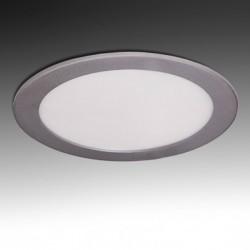 Downlight Circular Plateado 15W 192mm 1170Lm