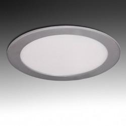 Downlight Circular Plateado 18W 225mm 1350Lm