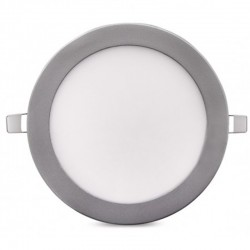 Comprar Downlight Circular Plateado 18W 225mm 1350Lm