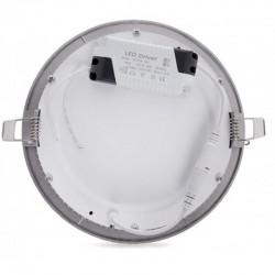 Precios Downlight Circular Plateado 18W 225mm 1350Lm