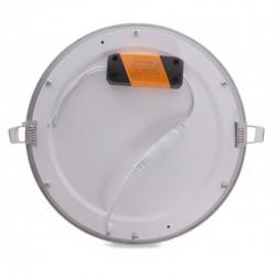 Precios Downlight Circular Plateado 20W 240mm 1860Lm