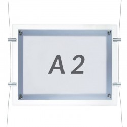 Horizontal Panel metracrilato led A2