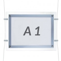 Horizontal Panel metracrilato led A1