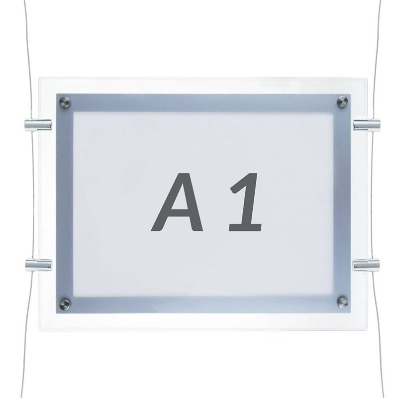 Horizontal Panel metracrilato led A1