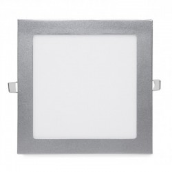 Comprar Downlight Cuadrado Plateado 18W 224mm 1350Lm