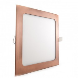 Comprar Downlight cuadrado Bronce 18W 225mm 1300Lm