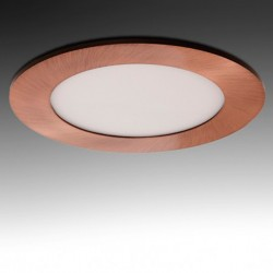 Downlight redondo Bronce 6W Ø120mm 480Lm