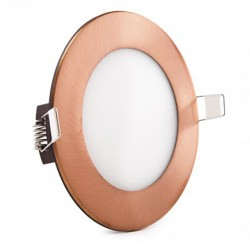 Comprar Downlight redondo Bronce 6W Ø120mm 480Lm