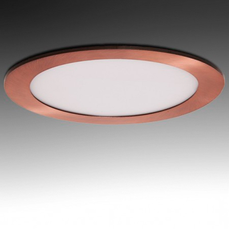 Downlight redondo Bronce 18W Ø225mm 1300Lm