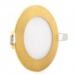 Comprar Downlight redondo Dorado 6W Ø120mm 480Lm