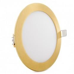Comprar Downlight redondo Dorado 12W Ø170mm 860Lm