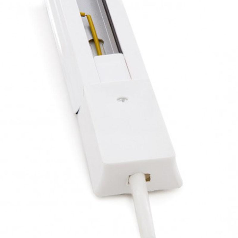 Conector Carril Monofásico + 1 metro Blanco