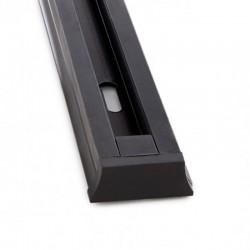 Precios Conector Carril Monofásico + 1 metro Negro