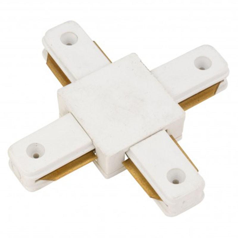 Conector X Carril Monofásico Blanco