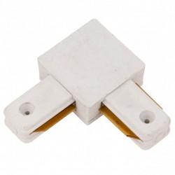 Conector L 90º Carril Monofásico Blanco