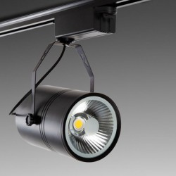 Foco Carril Led 20W 2000Lm Ø118mm