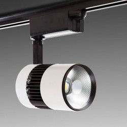 Foco Carril Led 20W 2000Lm Ø105mm