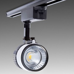 Foco Carril Led 20W 1800Lm Ø103mm