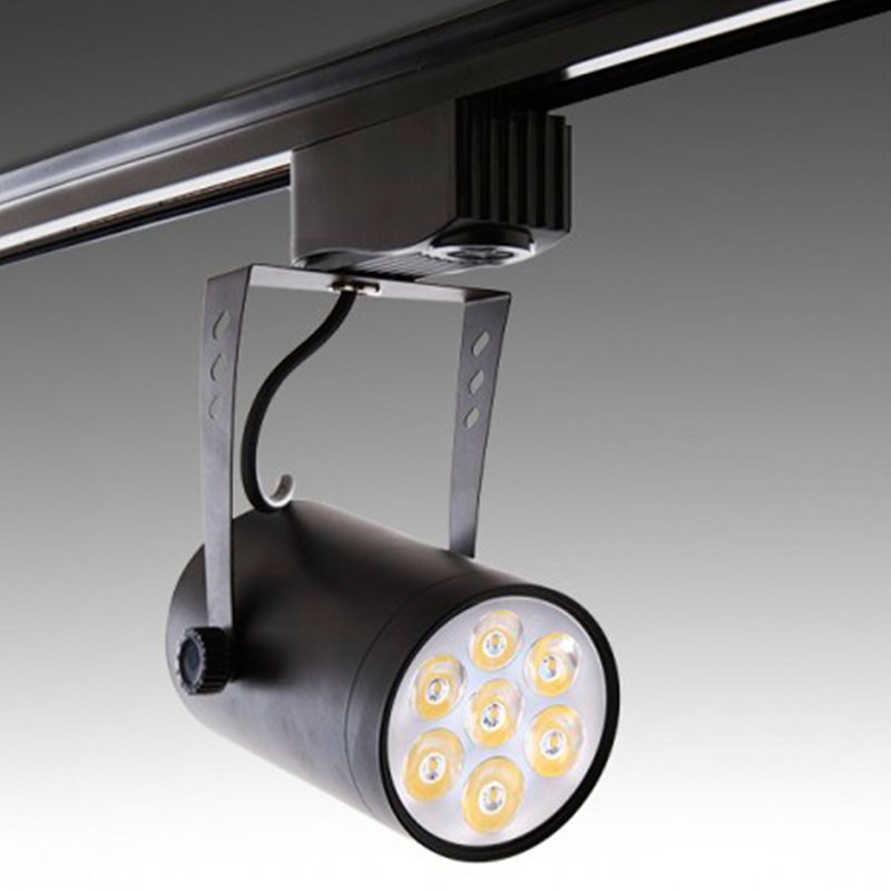 Foco Carril Led 7W 700Lm Ø70mm