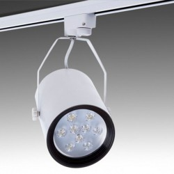 Foco Carril Led 9W 900Lm Ø116mm