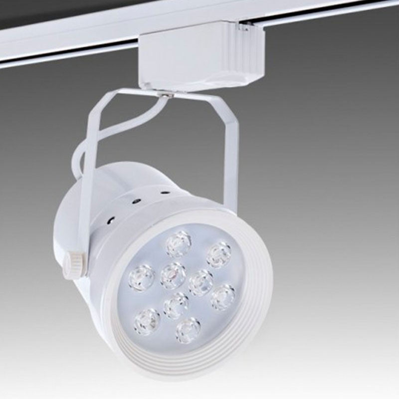 Foco Carril Led 9W 900Lm Ø113mm