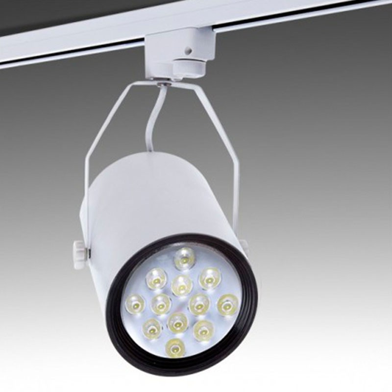 Foco Carril Led 12W 1200Lm Ø114mm