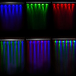 Precios Bañador de pared RGB 18W IP65