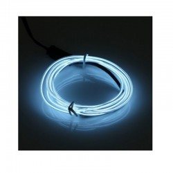 Cable Luminoso blanco frío