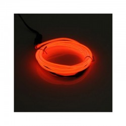 Cable Luminoso rojo