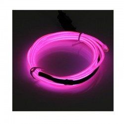 Cable Luminoso rosa