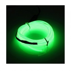 Cable Luminoso verde