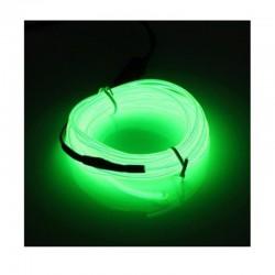 Cable Luminoso verde