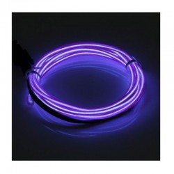 Cable Luminoso purpura