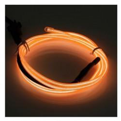 Cable Luminoso naranja