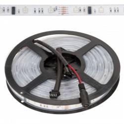 Tira led Digital 12v RGB 30Leds/metro IP67