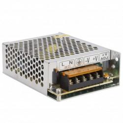 Transformador metálico 24v 60W 2,5A IP25