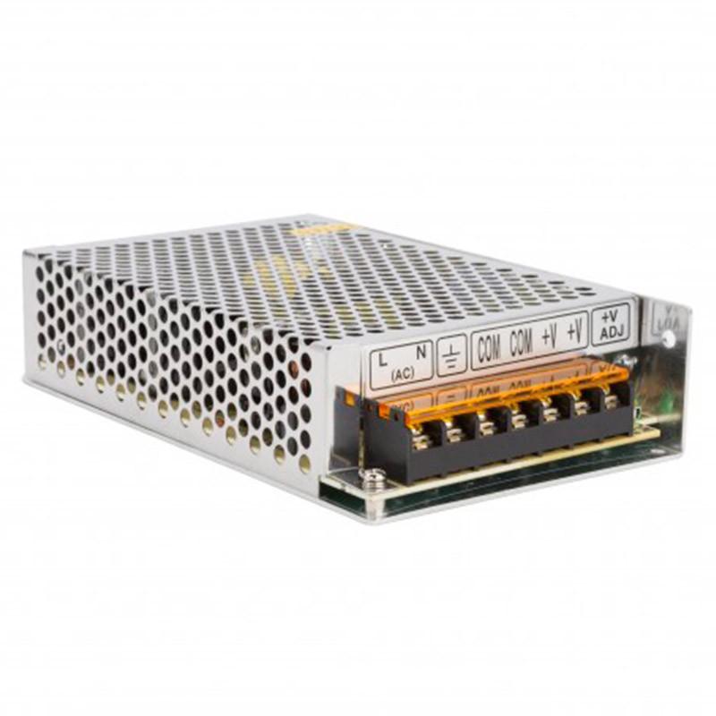 Transformador metálico 24v 100W 4,2A IP25
