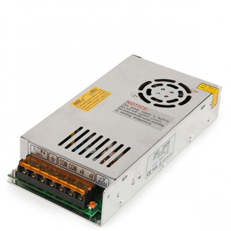 Transformador metálico 24v 250W 10,1A IP25