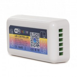Controlador WIfi RGB+blanco - compatible con Alexa