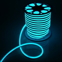 Flex Neon 16x25mm 10W/m 24V 120Leds/m blanco frío