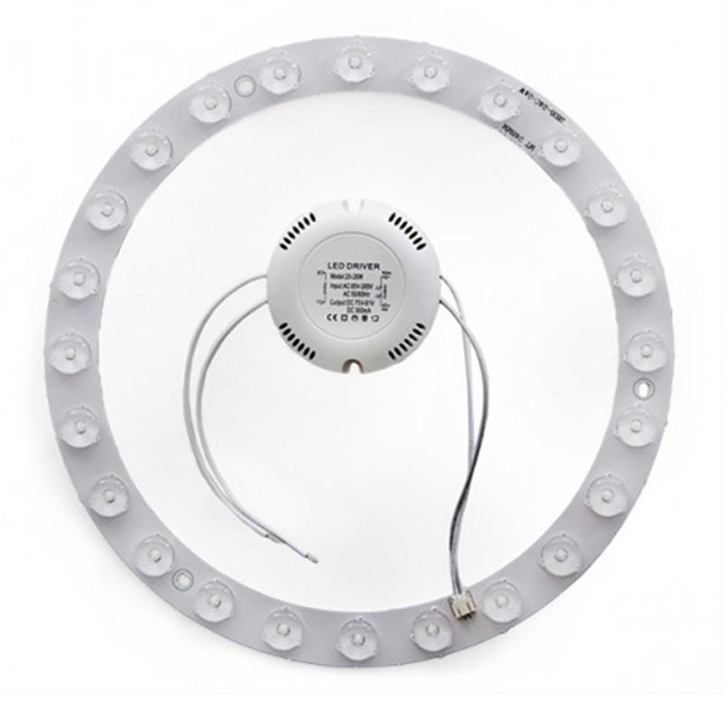 Aro fluorescente circular de led Ø220mm 20W