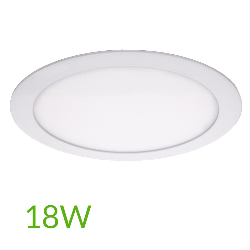 Downlight circular 225mm 18W 1409Lm
