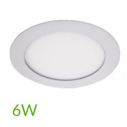 Downlight circular 120mm 6W 400Lm