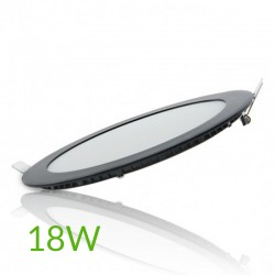 Comprar Downlight Circular Negro 225mm 18W
