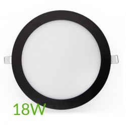 Precios Downlight Circular Negro 225mm 18W