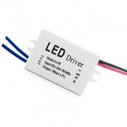 Driver Downlight led Plateado 3W 240Lm Ø98mm