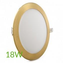 Comprar Downlight redondo Dorado 18W Ø225mm 1300Lm