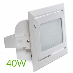 Comprar Foco Downlight Led Rectangular 40W 4400Lm