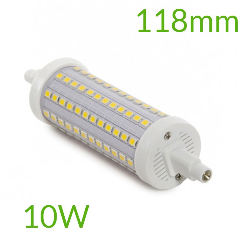 Bombilla led R7S 118mm SMD2835 10W 1000Lm