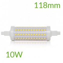 Casquillo Bombilla led R7S 118mm SMD2835 10W 1000Lm